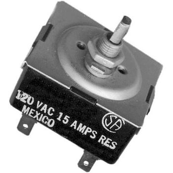 "421745 - Commercial - 120V Infinite Switch W/ 1"" Shaft Product Image"