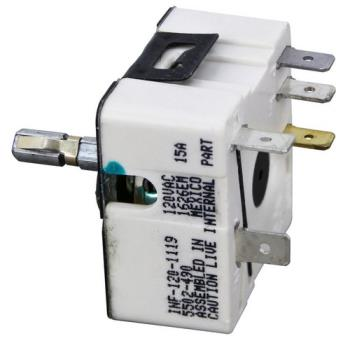 42100 - Commercial - 421023 - 120 Volt Robertshaw Screw Mount Infinite Control Product Image