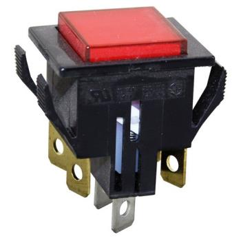421065 - Cleveland - 19978 - On/Off 6 Tab Lighted Push Button Switch Product Image