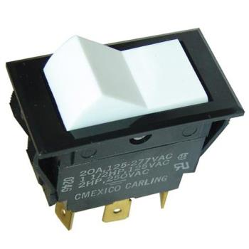 421126 - Allpoints Select - 421126 - DPDT On/On 6 Tab Rocker Switch Product Image