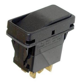 421282 - Allpoints Select - 421282 - On/On 6 Tab Rocker Switch Product Image