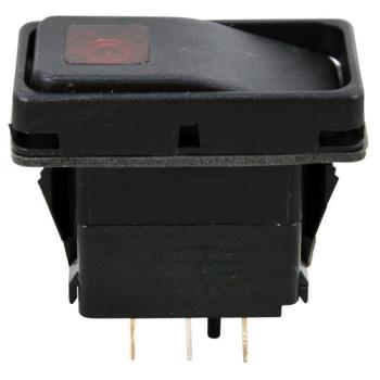 26494 - Allpoints Select - 421368 - On/Off 6 Tab Lighted Rocker Switch Product Image