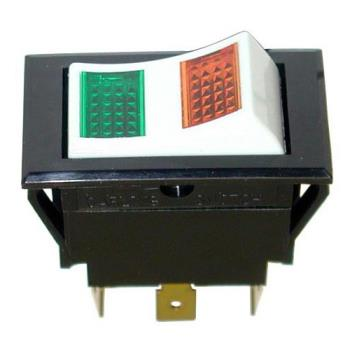 421383 - Allpoints Select - 421383 - Momentary On/Off 6 Tab Lighted Rocker Switch Product Image