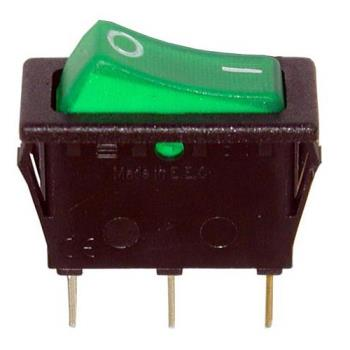 421420 - Allpoints Select - 421420 - On/Off 3 Tab Lighted Rocker Switch Product Image
