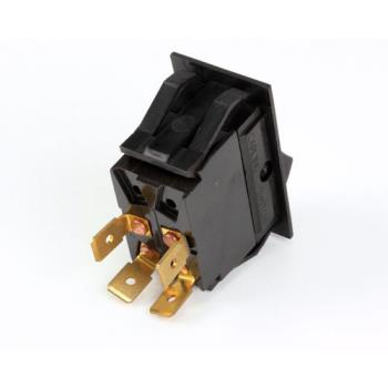 8002677 - Blodgett - 30464 - Rocker Dpst Matt Black Switch Product Image