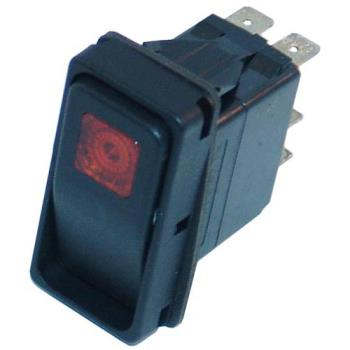 421325 - Cleveland - 19994 - Momentary On/Off 6 Tab Lighted Rocker Switch Product Image