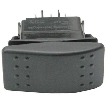 42137 - Commercial - DPDT Momentary On/Off, Momentary On Rocker Switch Product Image