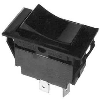 421156 - Commercial - DPST Momentary On/Off 4 Tab Rocker Switch Product Image