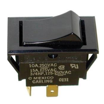 421234 - Commercial - SPST Momentary On/Off Rocker Switch Product Image