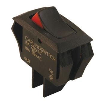 42125 - Commercial - SPST On/Off 2 Tab Rocker Switch Product Image