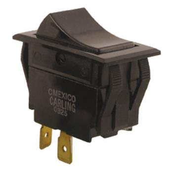 42115 - Commercial - SPST On/Off 20 Amp 2 Tab Rocker Switch Product Image