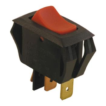 42135 - Commercial - SPST On/Off 3 Tab Lighted Rocker Switch Product Image