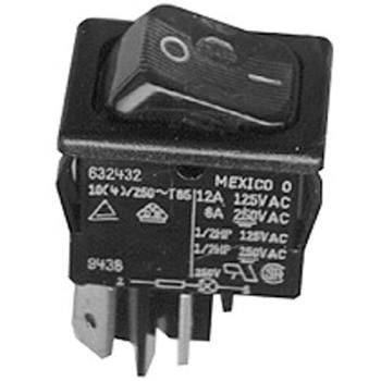 421695 - Cretors - 4922 - On/Off Rocker Switch w/ Amber Light Product Image