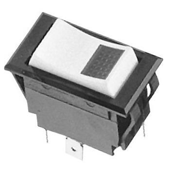 421601 - Groen - 016166 - On/Off 3 Tab Lighted Rocker Switch Product Image