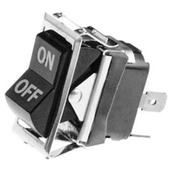 421651 - Hobart - 343224-16 - On/Off 4 Tab Rocker Switch Product Image