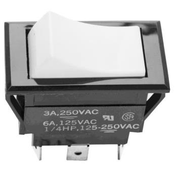 421205 - Jackson - 5930-301-44-00 - SPST Momentary On/Off 3 Tab Rocker Switch Product Image