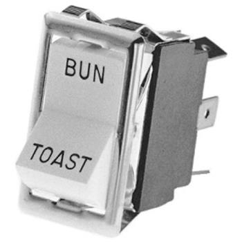 421040 - Lincoln - 21351SP - Bun/Toast 6 Tab Rocker Switch Product Image