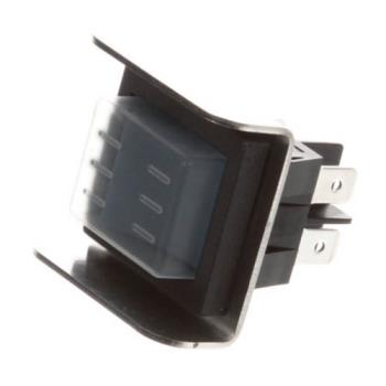 26571 - Lockwood   - H-SW-ON/OFF - Black On/Off Rocker Switch Product Image