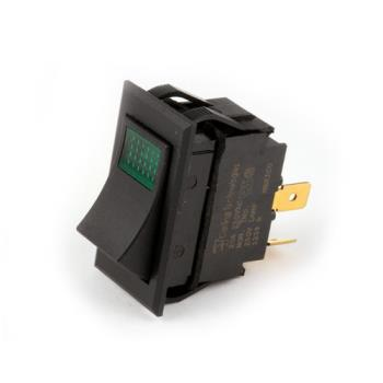 26063 - Original Parts - 421465 - DPST On/Off 4 Tab Lighted Rocker Switch Product Image