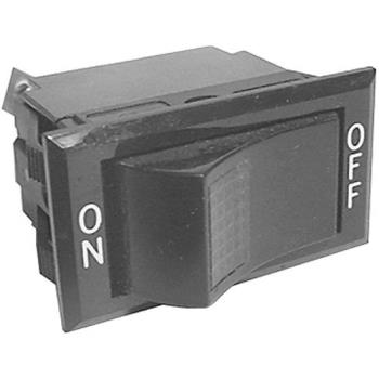 421604 - Roundup - 4010104 - On/Off 3 Tab Lighted Rocker Switch Product Image