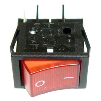 42164 - Star - 2E-Z1858 - On/Off 4 Tab Lighted Rocker Switch Product Image