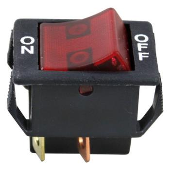 421412 - Star - 2E-Z5884 - On/Off 4 Tab Lighted Rocker Switch Product Image