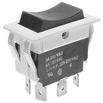 421681 - Vulcan Hart - 411496-B3 - 6-Tab On/Off/Momentary On Rocker Switch Product Image