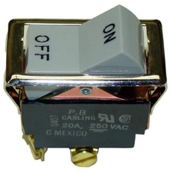 421249 - Wells - WS-54228 - On/Off 4 Tab Rocker Switch Product Image