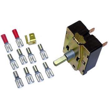26151 - Lang - P9-30304-06-1 - Off/Low/Med/High 5 Tab Rotary Switch Product Image