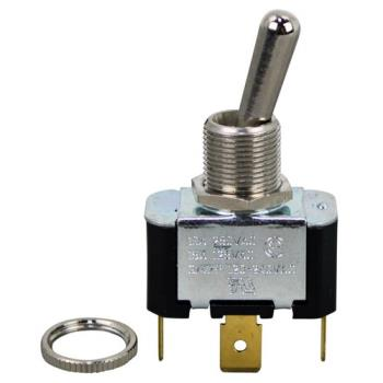 421203 - Allpoints Select - 421203 - SPDT Momentary On/Off 3 Tab Toggle Switch Product Image