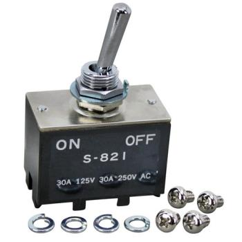 26493 - APW Wyott - 67002 - DPST On/Off 4 Tab Toggle Switch Product Image