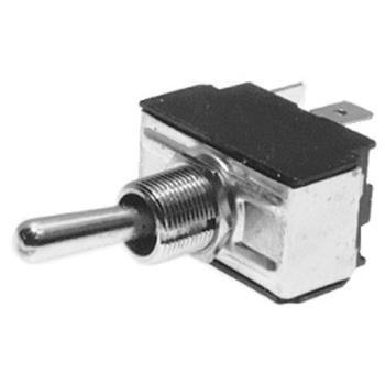 421244 - Commercial - DPDT Momentary On/Off 6 Tab Toggle Switch Product Image