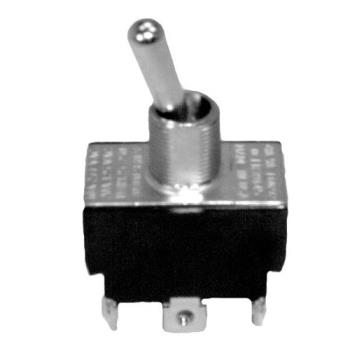 421011 - Commercial - DPDT On/Off 6 Tab Toggle Switch Product Image
