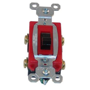 421021 - Commercial - DPST On/Off 120-277 V 4 Tab Toggle Switch Product Image