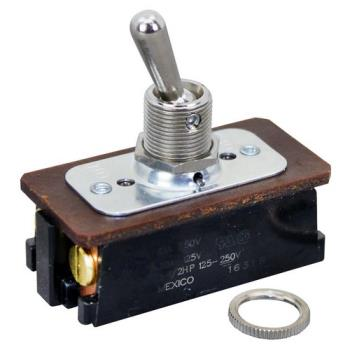 42166 - Commercial - DPST On/Off 4 Screw Toggle Switch Product Image