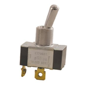 42141 - Commercial - SPST On/Off 2 Tab Toggle Switch Product Image