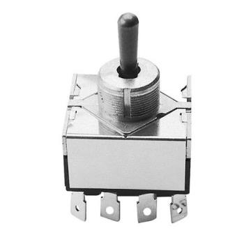 421254 - Henny Penny - 16640 - 4PDT On/Off/On Toggle Switch Product Image