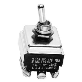 421206 - Jackson - 5930-301-39-00 - 3PST On/Off 6 Tab Toggle Switch Product Image
