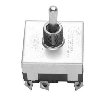 421257 - Pitco - P5047167 - 3PDT On/Off/Momentary On Toggle Switch Product Image
