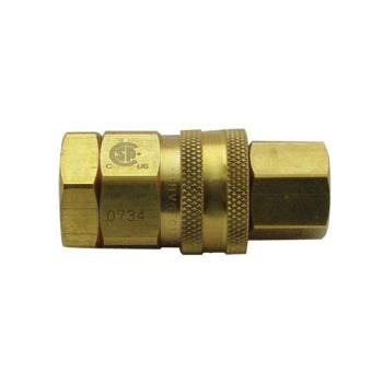 41824 - T&S Brass - AG-5F - 1 1/4 in Gas Quick Disconnect Product Image