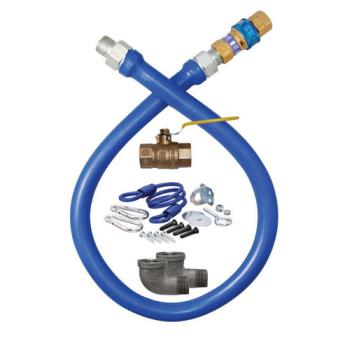 76526 - Dormont - 1650KIT36 - 1/2 in x 36 in Deluxe Gas Hose Kit Product Image