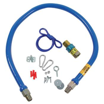 41190 - Dormont - 33S0233-48 - 1/2 in x 48 in Gas Hose Kit Product Image