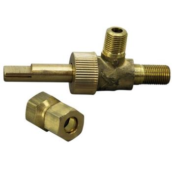 "41309 - Commercial - 1/8"" Gas Burner Valve w/ 5/16"" Tubing Outlet Product Image"