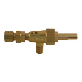 "41308 - Commercial - 1/8"" Gas Burner Valve w/ 1/4"" Tubing Outlet Product Image"
