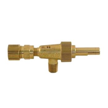 "41314 - Imperial - 1611 - 1/8"" Gas Burner Valve w/ 3/8"" Tubing Outlet Product Image"