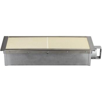 "263690 - Jade - 1212500000 - 16 3/4"" x 6"" Infrared Burner Product Image"