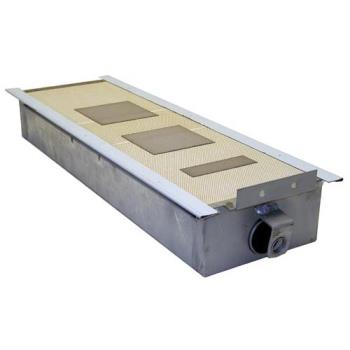 "262718 - Vulcan Hart - 713660 - 6 3/4"" x 20 1/2"" Infrared Burner Product Image"