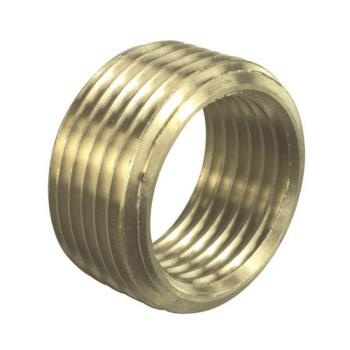 12100 - Commercial - 272347 - 1/2 in x 3/8 in Brass Face Bushing Product Image