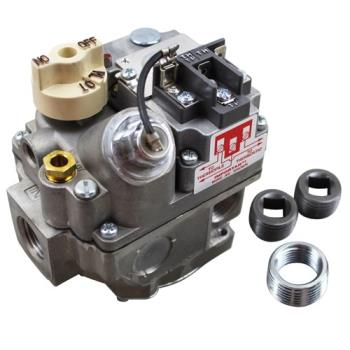 "41435 - Commercial - 1/2"" Millivolt LP Gas Combination Safety Valve Product Image"