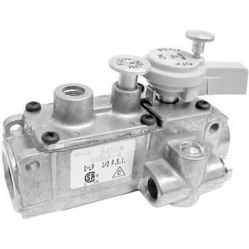 "41453 - Commercial - 3/8"" BASO Gas Safety Valve w/ 1/4"" Pilot In/Out Product Image"